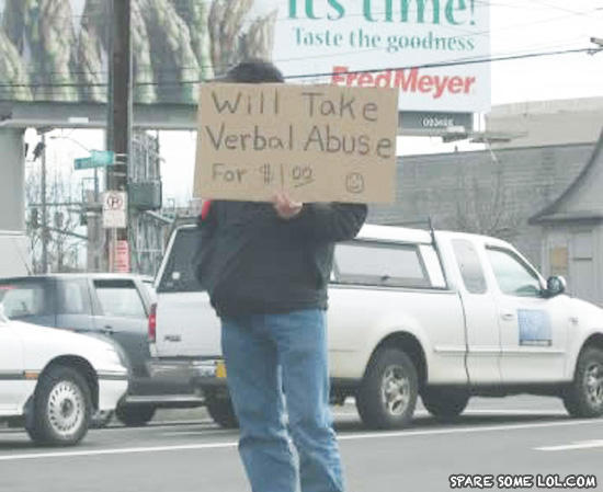 funny hobo signs. funny hobo signs. the only hobo in the world u; the only hobo in the world u